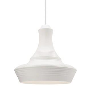 LBL Menara Grande 1 Light White Line-Voltage Pendant