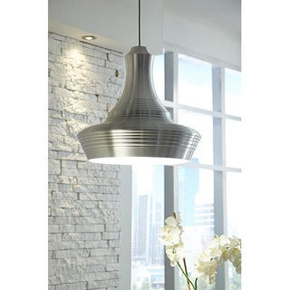 LBL Menara Grande 1 Light Aluminum Line-Voltage Pendant