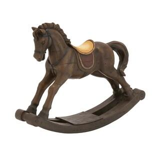 Impressive Styled Polystone Rocking Horse