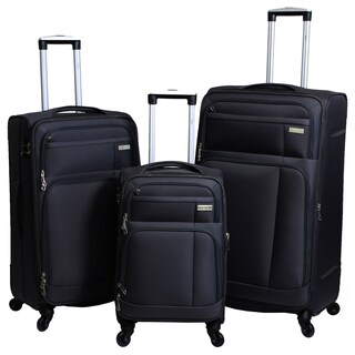 Hytech Ivy 3-piece Lightweight Spinner Luggage Set