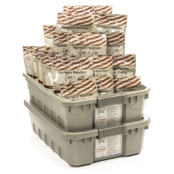 Patriot Pantry 3 Month Emergency Food Supply 18737794