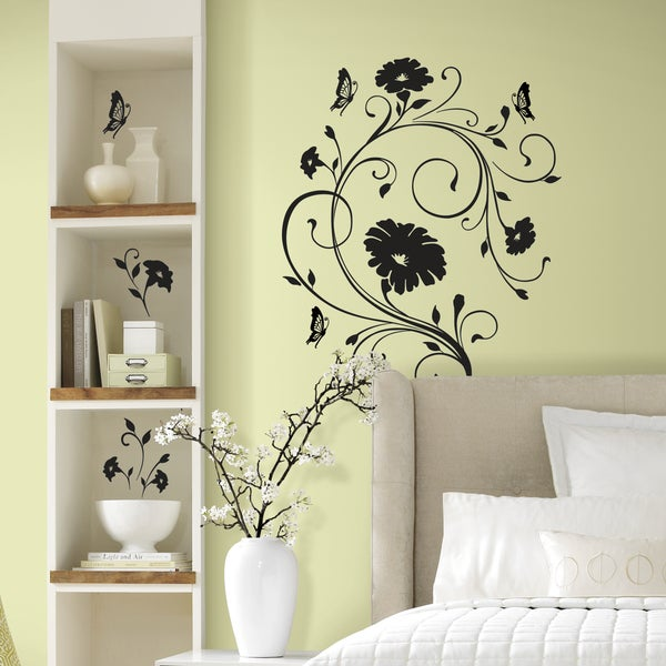 Kitchen Wall Decor Bed Bath And Beyond: Shop RoomMates Decor Floral Vine Peel-and-Stick Giant Wall