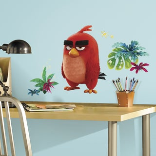 'Angry Birds Movie' Red Peel and Stick Giant Wall Decals