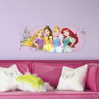 Disney Princess Friendship Adventures Peel and Stick Giant Wall Graphic