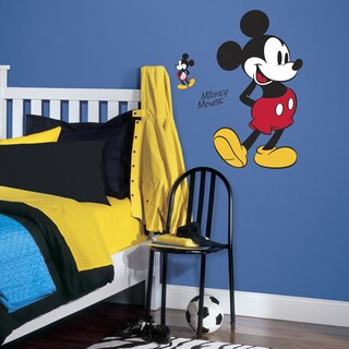 Mickey Mouse Peel-and-stick Giant Wall Decal