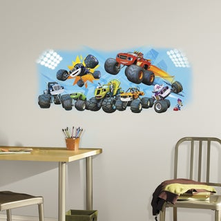 Blaze & Friends Peel and Stick Giant Wall Graphic
