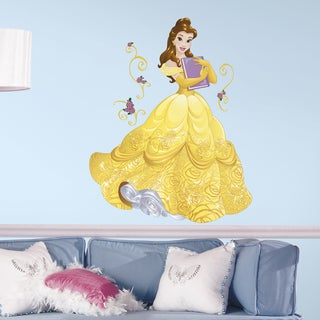 Disney Sparkling Belle Peel and Stick Giant Wall Decals
