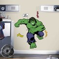 Classic Hulk Comic Peel and Stick Giant Wall Decals