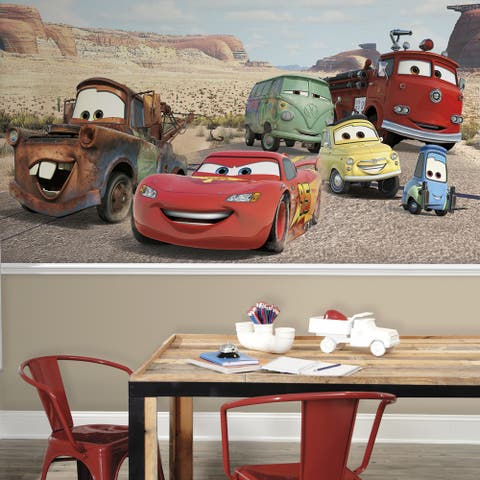 Disney 'Cars' Desert 6 x 10.5-foot XL Ultra-strippable Pre-pasted Wall Mural