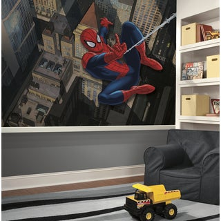 Ultimate Spiderman 6-inch x 10.5-inch XL Ultra-strippable Pre-pasted Mural