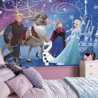 Disney Frozen Magic XL 6' x 10.5' Ultra-strippable Prepasted Mural