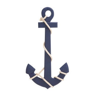 Navy Blue Color Palette Attractive Wood Rope Wall Anchor