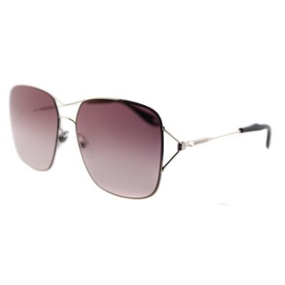 Givenchy GV 7004 3YG Light Gold Metal Square Rose Gradient Lens Sunglasses