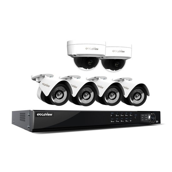 Shop LaView 1080p IP NVR 8 Channel 4TB Hard Drive Video ...