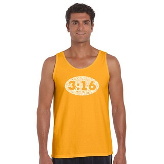 Men's Cotton John 3:16 Tank Top