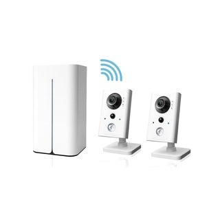LaView 1080p Wi-Fi NVR 8 CH 1TB HDD Video Security Surveillance System with (2) 1080p WiFi Cameras, Remote View and Night Vision