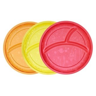 Munchkin Multi Divided Plates (Pack of 3)