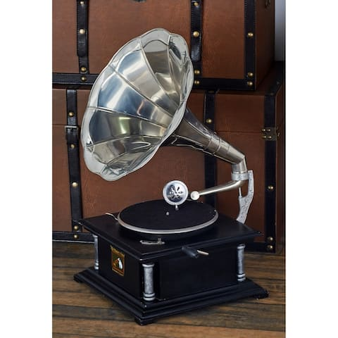 Wood Gramophone 26 inches high x 14 inches wide Unique Home Accents