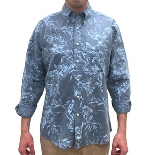 Bills Khakis Standard Issue Floral-printed Long-sleeve Button-down Shirt