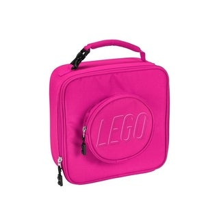 LEGO Pink Brick Lunch Bag