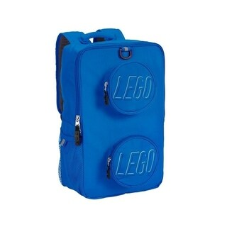 LEGO Brick Blue Recyled Backpack