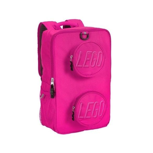 Lego Brick Backpack Pink (Lego Pink Brick Cycle-PET Backp...