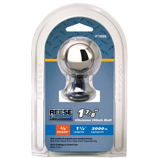 Shop Reese Towpower 74005 1 7 8 Inch X 3 4 Inch Zinc Hitch