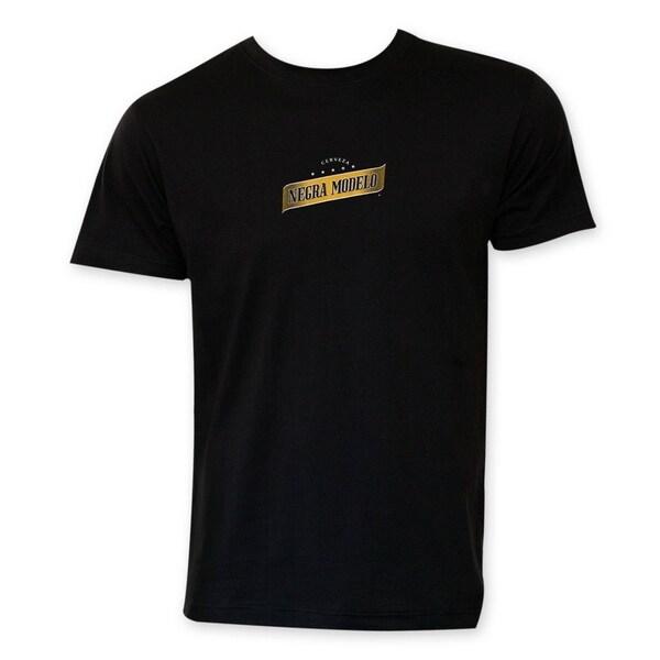 Negra Modelo Beer Logo Tee Shirt. Opens flyout.