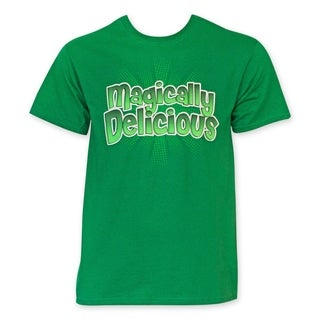 St. Patrick's Day Men's Green 'Magically Delicious' Tee Shirt