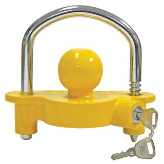 Reese Towpower 72783 Yellow & Chrome Universal Coupler Lock