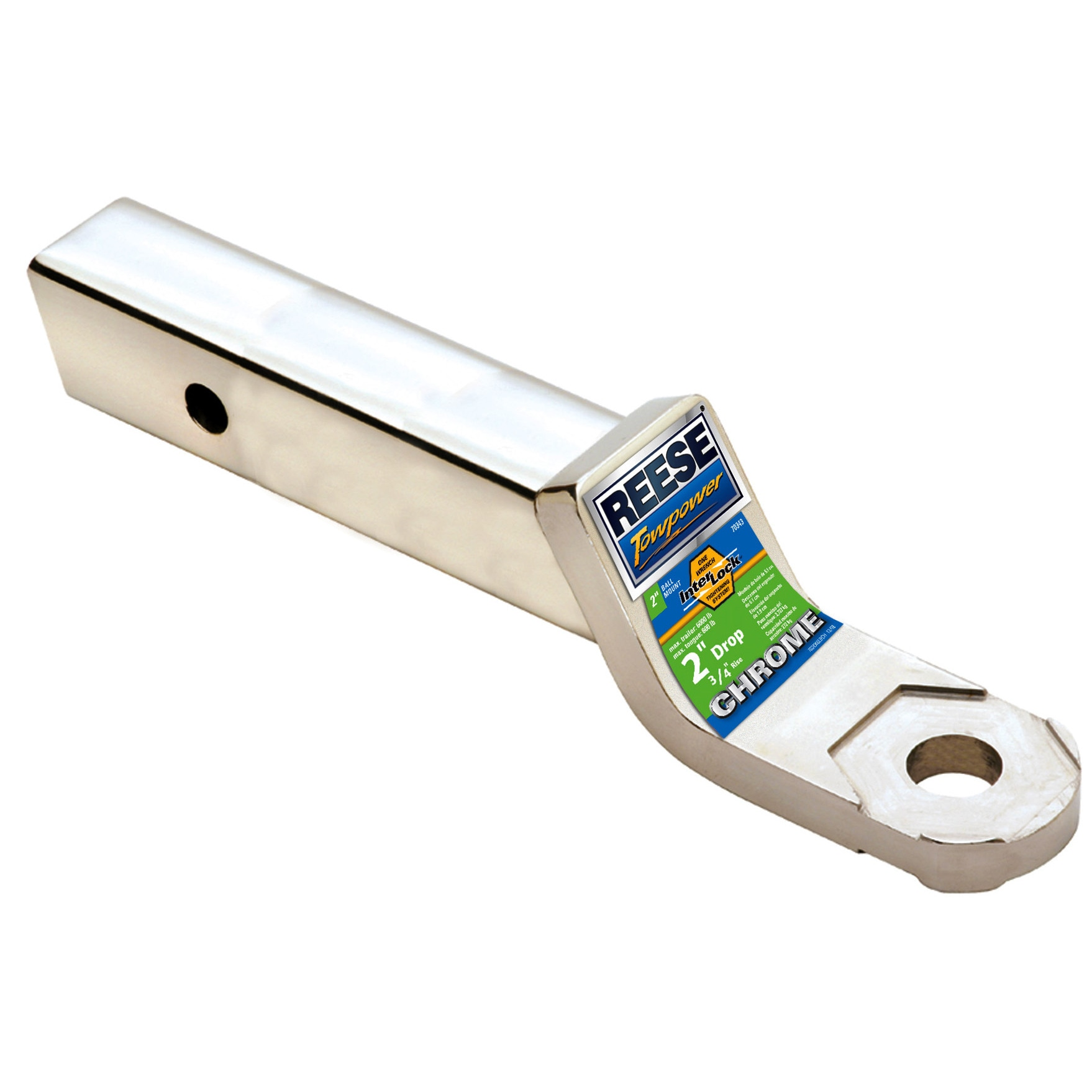 Reese Towpower 7034311 2-inch Drop Chrome InterLock Draw ...