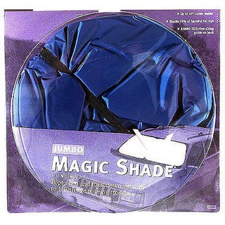 Auto Expressions 1203006B 28.5-inch X 31.5-inch Magic Shade Sunshade