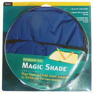 Auto Expressions 1201006B 25-inch X 28-inch Magic Shade Auto Sunshade