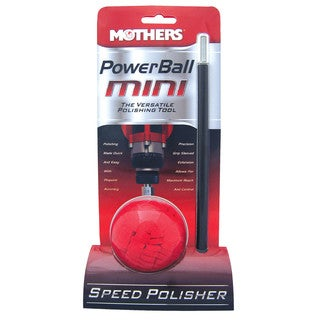 Mothers 05141 10-inch PowerBall Mini Polisher