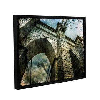 Richard James's 'Brooklyn Bridge II' Gallery Wrapped Floater-framed Canvas