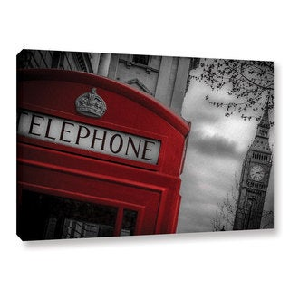 Richard James's 'London Calling' Gallery Wrapped Canvas