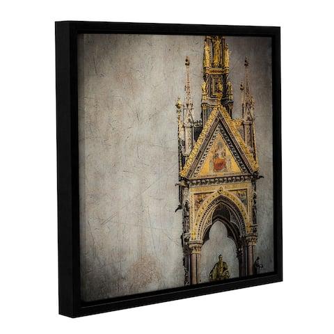Richard James's 'Albert' Gallery Wrapped Floater-framed Canvas