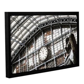Richard James's 'JhnBtJman' Gallery Wrapped Floater-framed Canvas