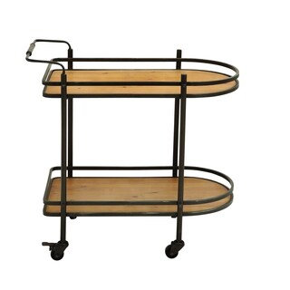 Tea Cart With Versatile And Functional Design