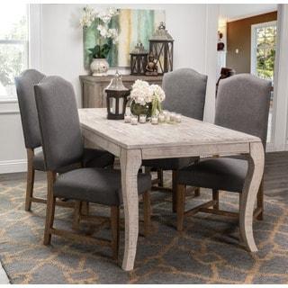 Kosas Home Carlton Slate-upholstered Polyester/Linen Side Chair
