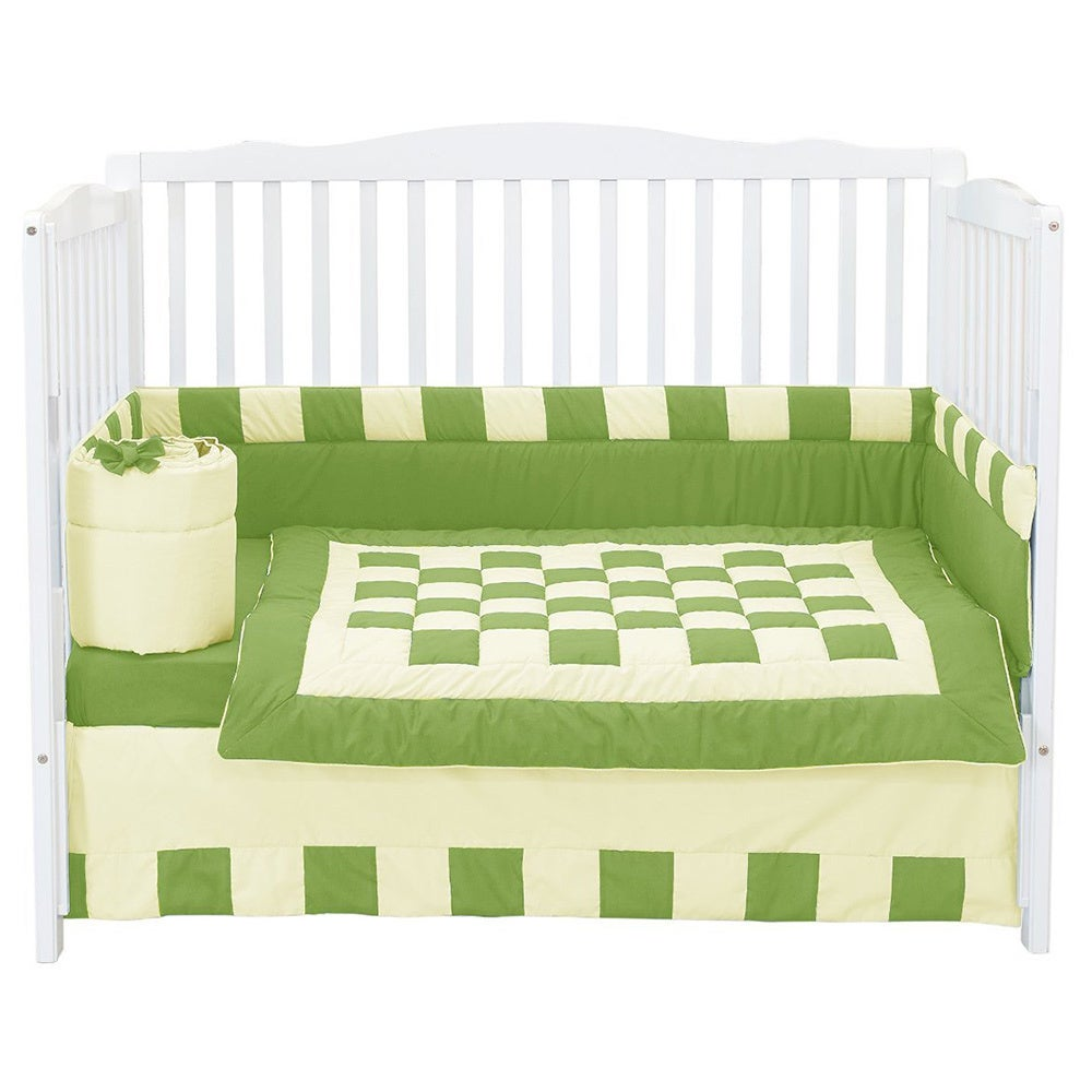 Mint Baby Doll Bedding Sweet Touch Baby Crib Bumper