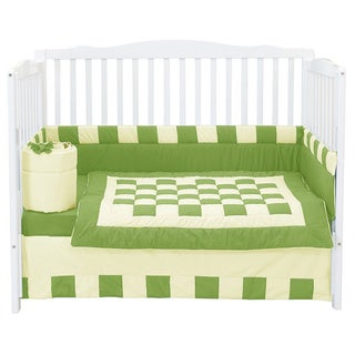 Baby Doll Patchwork Perfection Crib Bumper