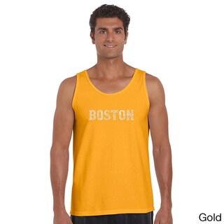 Men's Boston Neighborhoods Tank Top