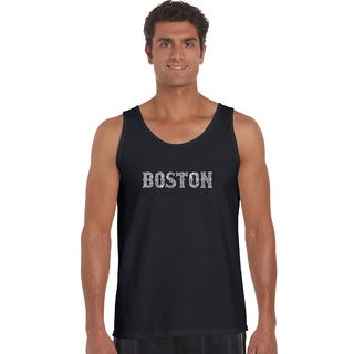 Men's Boston Neighborhoods Tank Top