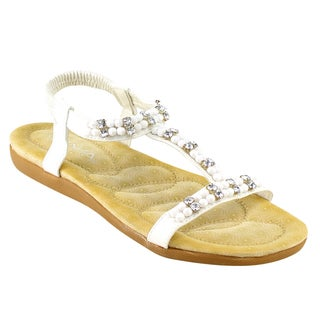 Bella Marie Nellie-5 T-strap Sandals