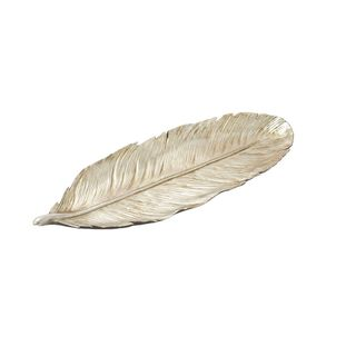 Copper Grove Kitty PS Silver Feather Tray