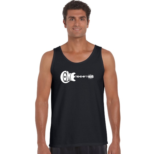 Mens Come Together Cotton Tank Top