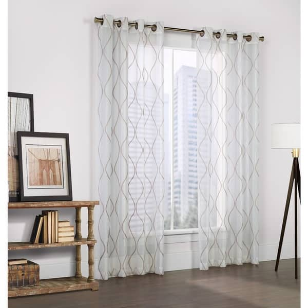 Crystal Embroidered White Faux