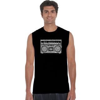 Men's Greatest Rap Hits of The 1980's Sleeveless T-shirt