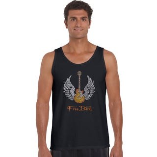 Men's Lyrics to Freebird Tank Top